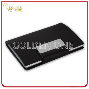 Fashionable and Elegant PU Leather Business Card Case