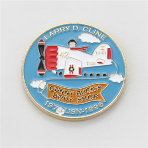 Promotion Custom Plating Soft Enamel Metal Challenge Coin