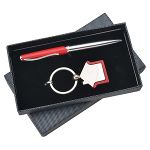 High Quality Luxury Business Promotion Gift Set with Black Box Pack