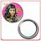 Lovely Girl Single Sider Metal Tin Make up Mirror