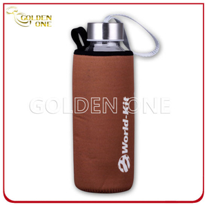 Adiabatic Neoprene Glass Bottle Stubby Holder with Tote