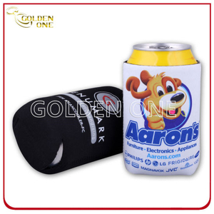 Fashion Heat Transfer Printing Neoprene Stubby Beer Can Cooler