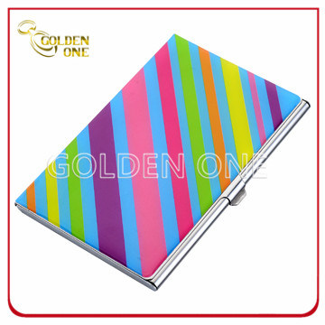 Best Colorful Stainless Steel Business Name Card Case