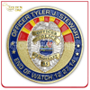 Custom Government Agency Military Shiny Souvenir Enamel Challenge Coin