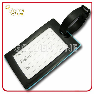 Customized Exclusive Design Soft PVC Label Luggage Tag
