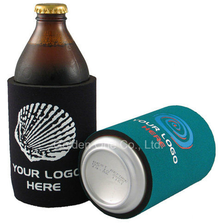 Promotional Top Quality Custom Printed Neoprene Can Cooler