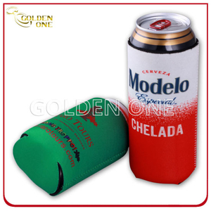 Custom Sublimation Printed Neoprene Beer Stubby Holder for Promotion