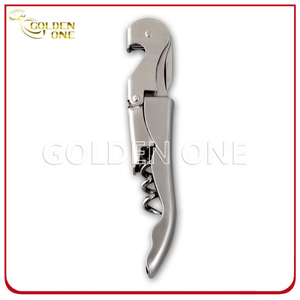 High Quality Brushed Stainless Steel Wine Corkscrew