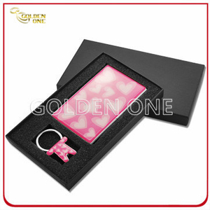 Fashion Colorful Card Holder and Kay Ring Gift Set