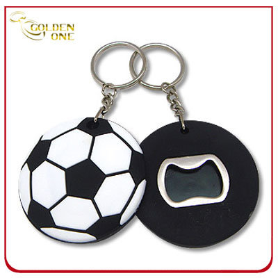 Novelty Promotion Football Shape Soft PVC Opener