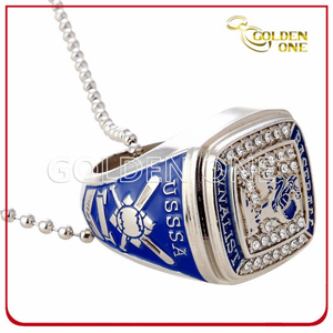 Major League Baseball Nickel Plated Metal Souvenir Ring