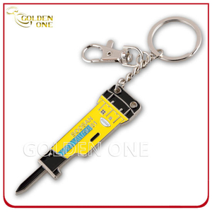Promotion Gift Custom Design Screwdriver Shape Metal Keychain