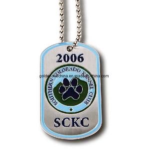 Promotion Gift Soft Enamel Dog Tag (DT09)