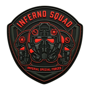 Custom 3D Brand Logo Military Tactical Rubberized Emblem Patch