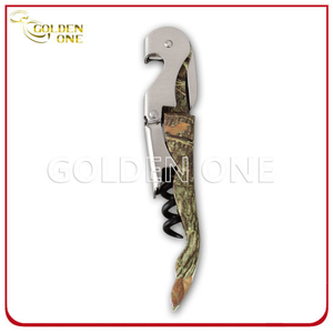 Promotion Gift Printed Stainless Steel Wine Corkscrew
