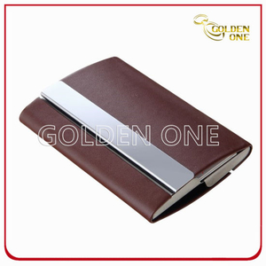 Custom Popular Style PU Leather Name Card Case