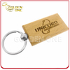 Wholesale Cheap Custom Engraving Rectangular Wooden Keychain