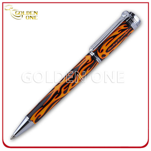 Manufacturer Flame Pattern Exclusive Metal Ball Pen