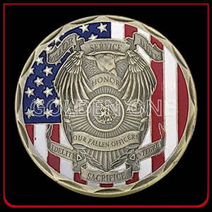 Gold Plating Soft Enamel And Printing Custom Souvenir Coin