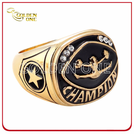 Creative Sport Them Cheering Squad Metal Championship Ring