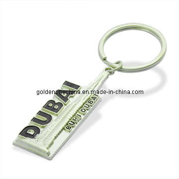 Promotion Cheap Round Shape Blank Metal Keyring