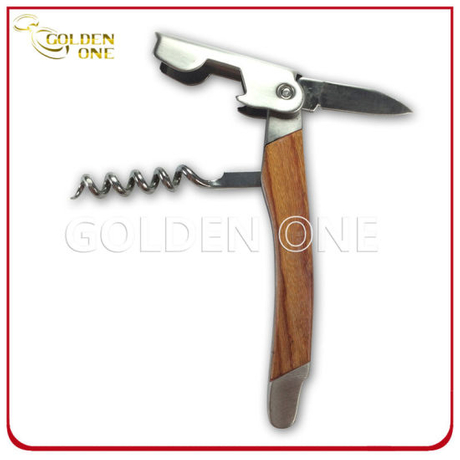 Hot Selling Wooden Double Hinged Wine Opener