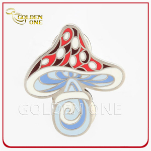 Custom Shiny Nickel Die Struck Hard Enamel Metal Pin Badge