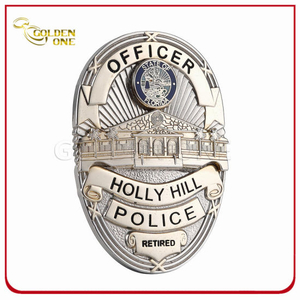 Hot Sales High Quality Custom Metal 3D Police Badge