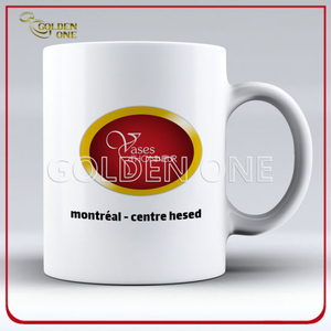 High Quality Wholesale Printed White Ceramic Mug