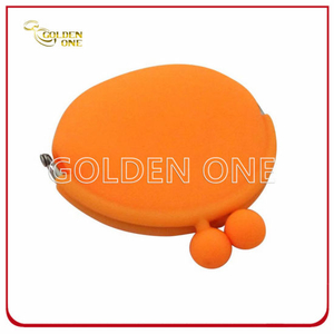 High Quality Plastic Promotional Gift Silicon Coin Purses