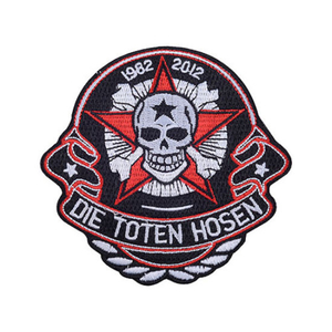 New Design Cloth Emblem Embroidery Patch for Commemoration Gift with Woven Process