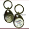 Soft Enamel Stainless Steel Brush Finish Bottle Opener Keychain