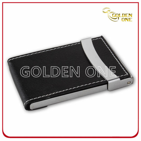 Factory Supply Genuine Leather Business Card Holder